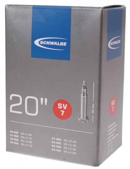 Binnenband 20X150-250 Schwalbe Frans Ventiel (40) Sv7