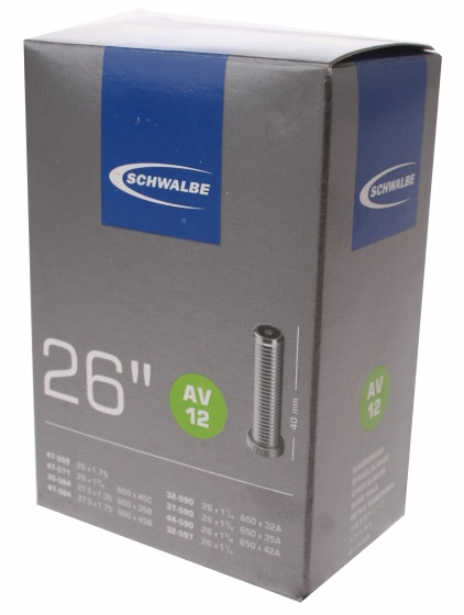 Binnenband 26X11-4-13-8-175 Schwalbe Auto Ventiel (40) Av12