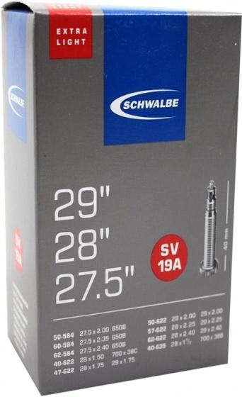 Schwalbe binnenband 27.5/29 x 1.5/2.4(40/62 584/635) FV 40 mm