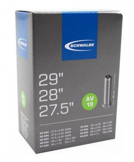 Binnenband 28X11-2-150-235 Schwalbe Auto Ventiel (40) Av19 29Er