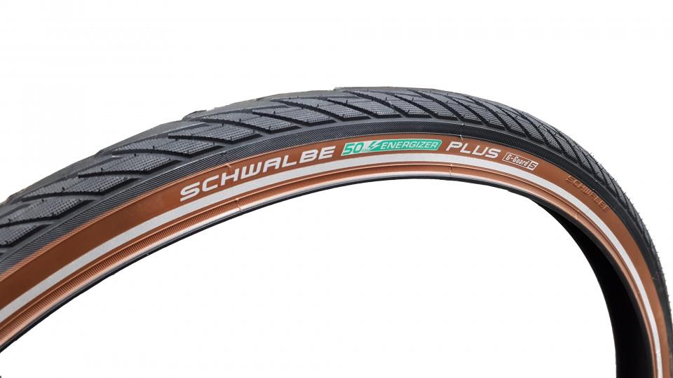 Schwalbe buitenband Energizer Plus 28 x 1.75 (47 622) zwart/bruin