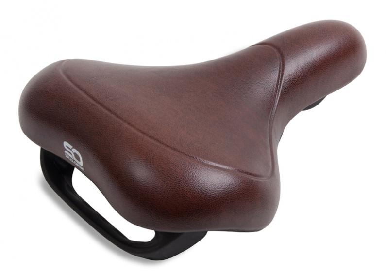 Selle Orient zadel E comfort unisex 260 x 214 mm bruin