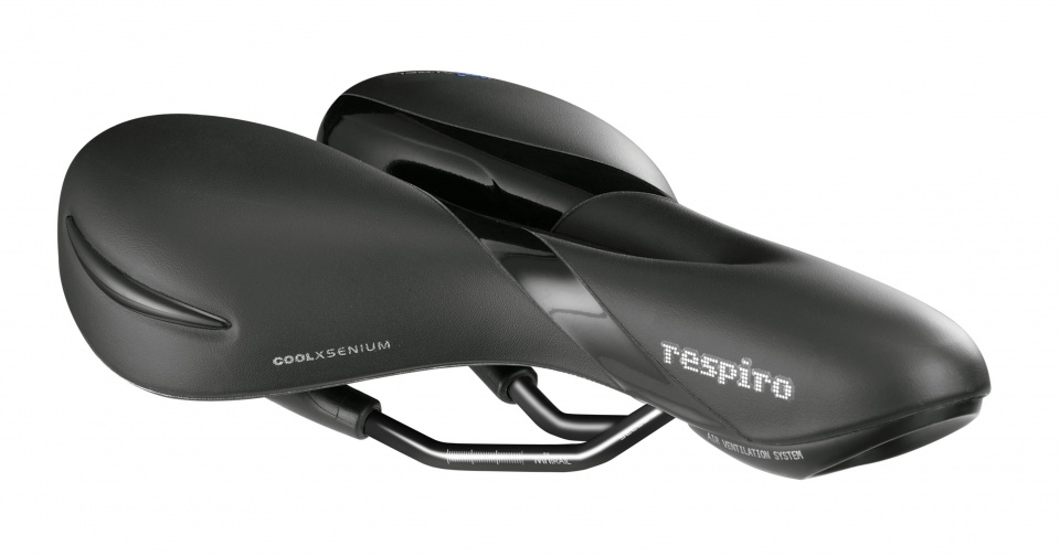 Selle Royal Zadel Respiro Moderate 277 x 182 mm heren zwart