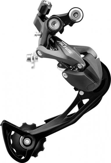 Shimano achterderailleur Altus RD M2000 9SP staal/alu zwart/zilver