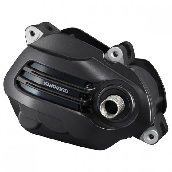 Shimano afdekkap SM DUE61 T middenmotor Steps 195 mm zwart