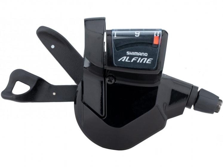 Shimano schakelset Alfine Rapide Fire SL S700 11 alu zwart