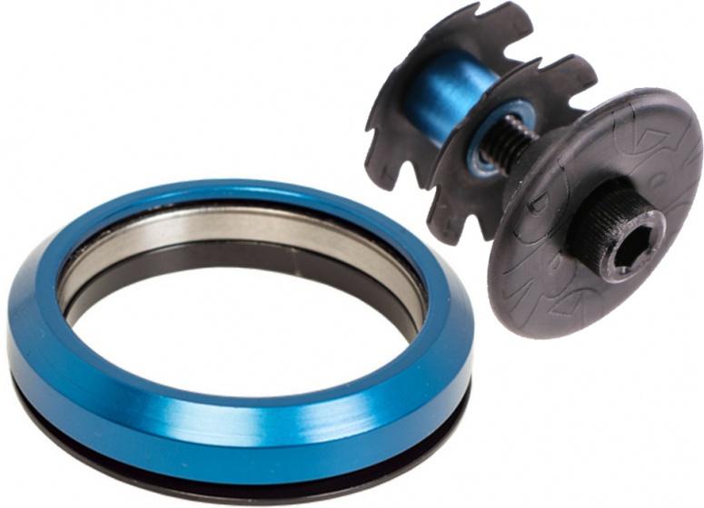 Pro balhoofdlager L en balhoofdplug 1 1/2 inch 45° blauw