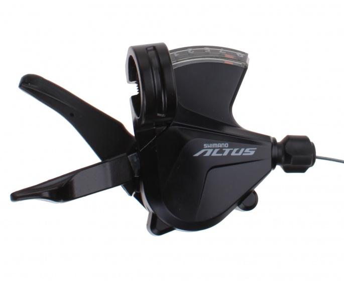 Shimano duimversteller Altus SL M2000 rechts 9V zwart Sport>Fietsen>Fiets Onderdelen & Accessoires aanschaffen doe je het voordeligst hier