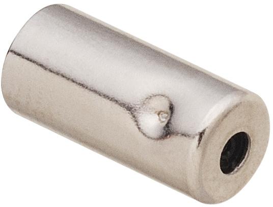 Shimano kabelstoppers buitenrem 5/6 mm RVS zilver 100 stuks