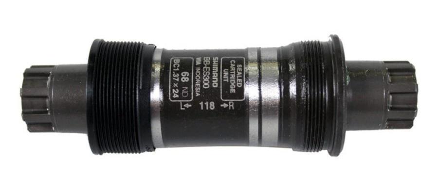 Shimano trapas BB ES300 staal 68 118 Octalink BSA zwart