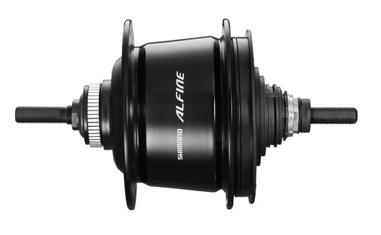 Shimano versnellingsnaaf Alfine SG S7001 11V 16G 187-135 zwart