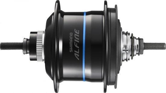Shimano versnellingsnaaf Alfine SG S7051 8S CL 36G zwart