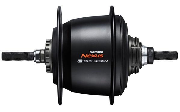 Shimano versnellingsnaaf Nexus E bike SG C7000 5S 36G zwart