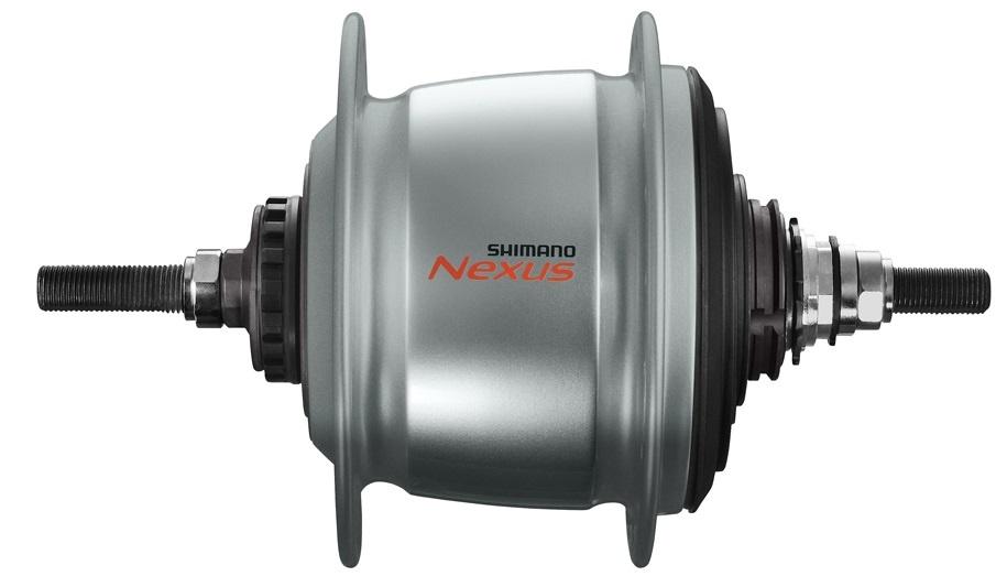 Shimano versnellingsnaaf Nexus SG C6011 8V 36G rollerbrake zilver