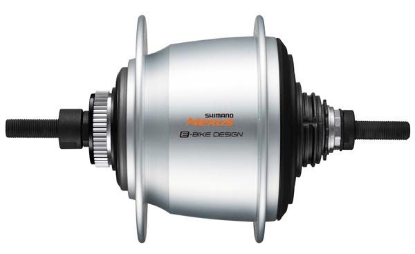 Shimano versnellingsnaaf Nexus SG C7000 5S 32G CL zilver