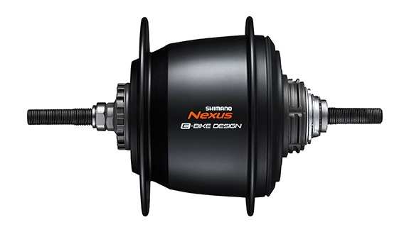 Shimano versnellingsnaaf Nexus SG C7050 5V 16G 187-36 rim zwart