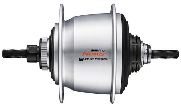 Shimano versnellingsnaaf Nexus SG C7050 5V 16G 187-36 zilver