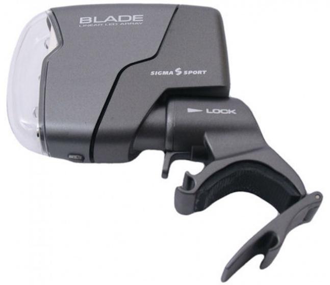 Sigma voorlicht Blade LED donkergrijs 9 x 10 x 2,5 cm