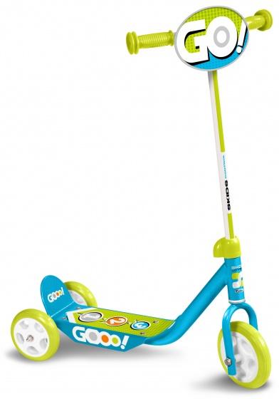 Skids Control kinderstep Gooo! Jongens Lichtblauw/Lichtgroen