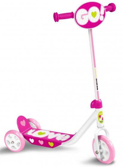 Skids Control Kinderstep Love Meisjes Vrijloop Roze/wit online kopen