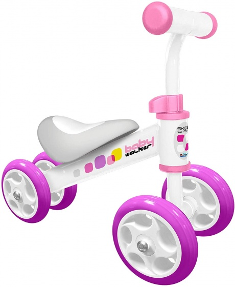 Skids Control Loopfiets Junior Wit/Roze