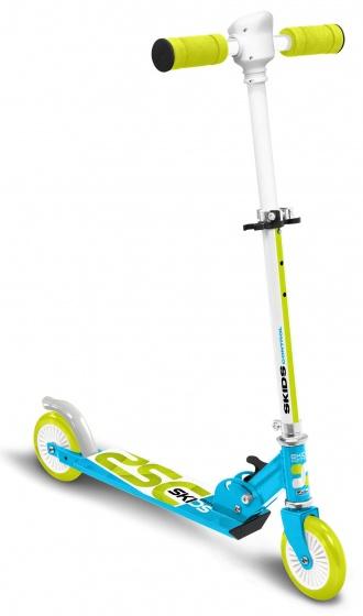 Skids Control Vouwstep Junior Voetrem Lichtblauw/lichtgroen online kopen