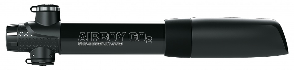 SKS Co2 Mini Pomp Airboy 5bar Zwart