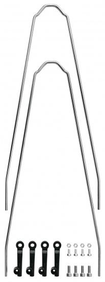 SKS Spatbordstang Set Velo 55 Junior Staal 24 Inch Zilver