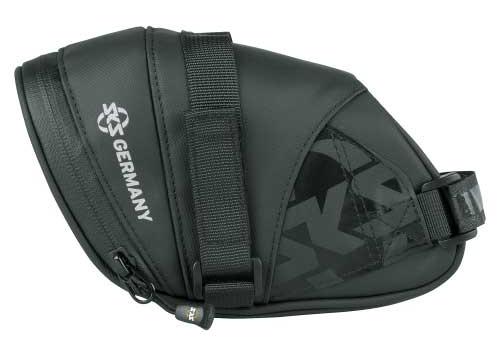 SKS zadeltas Explorer Straps polyester 800 ml zwart