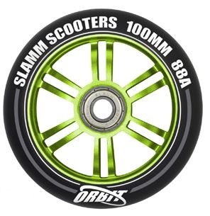 Slamm Wiel SL581 Orbit 100 mm Groen