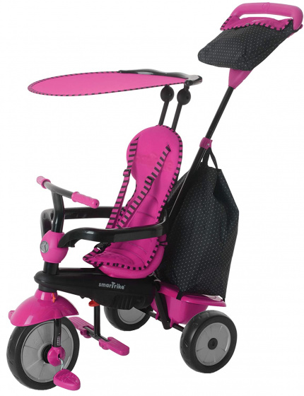 Smartrike 4-in-1-driewieler Glow Meisjes Roze/zwart online kopen