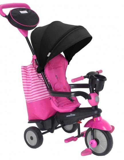 Smartrike 4-in-1-driewieler Swing Dlx Meisjes Roze/zwart online kopen