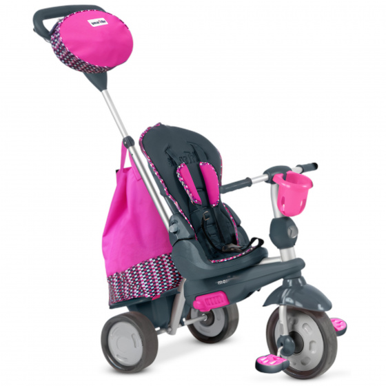 smarTrike Splash 4-in-1 Junior Roze