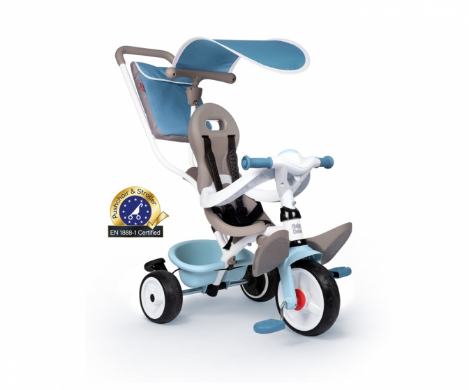 Smoby Baby Balade Plus Junior Blauw/grijs online kopen