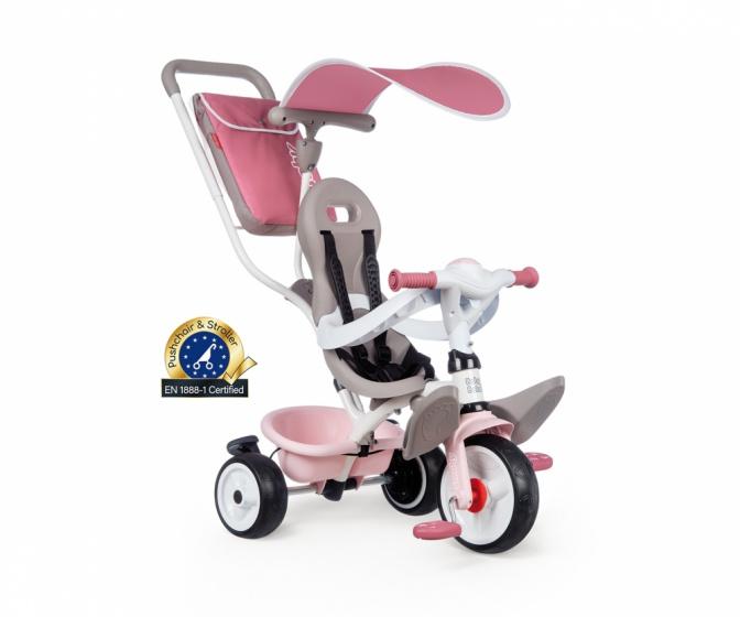 Smoby Baby Balade Plus Junior Roze/beige online kopen
