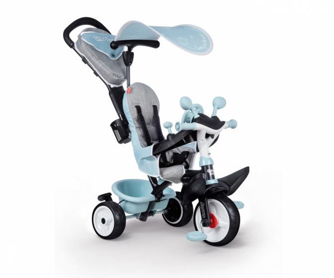 Smoby Baby Driver Plus Junior Blauw/grijs online kopen
