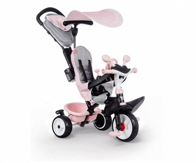 Smoby Baby Driver Plus Junior Roze/grijs online kopen