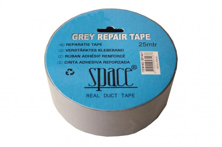 Space Reparatie Tape Grijs 25 Meter Sport>Fietsen>Fiets Onderdelen & Accessoires aanschaffen doe je het voordeligst hier