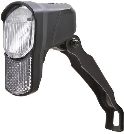 Spanninga koplamp Illico 2 led zwart
