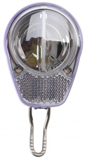 Spanninga koplamp Roxeo XDA naafdynamo led paars