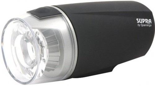 Spanninga koplamp Supra XTL led oplaadbaar zwart