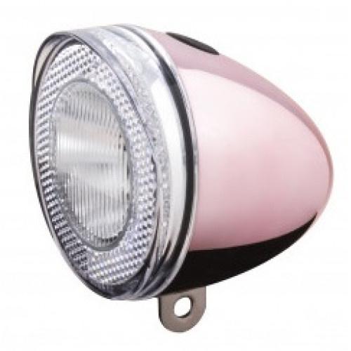 Spanninga koplamp Swingo XB 10 lux batterij led roze