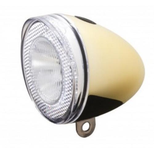 Spanninga koplamp Swingo XB 10 lux batterij led goud