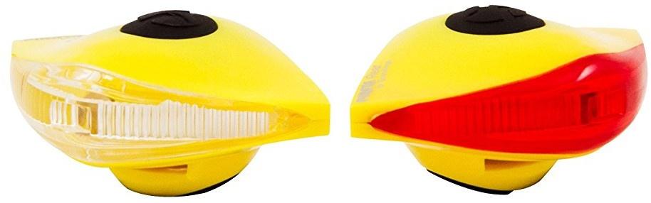 Spanninga verlichtingsset Pirata led batterij geel