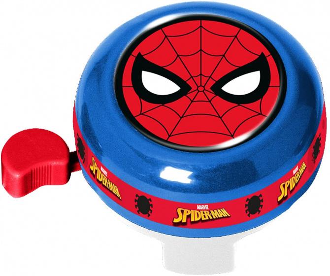 Stamp fietsbel Marvel Spider Man junior 6 x 7 x 10 cm blauw/rood
