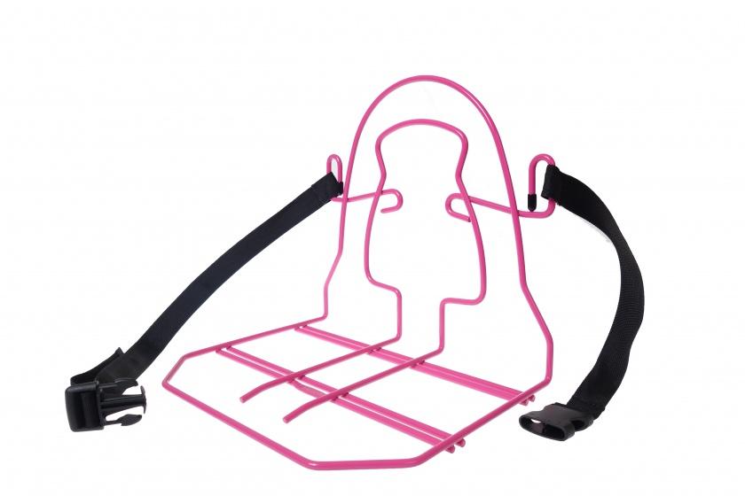Steco bagagedrager verbreder Monkey Mee roze