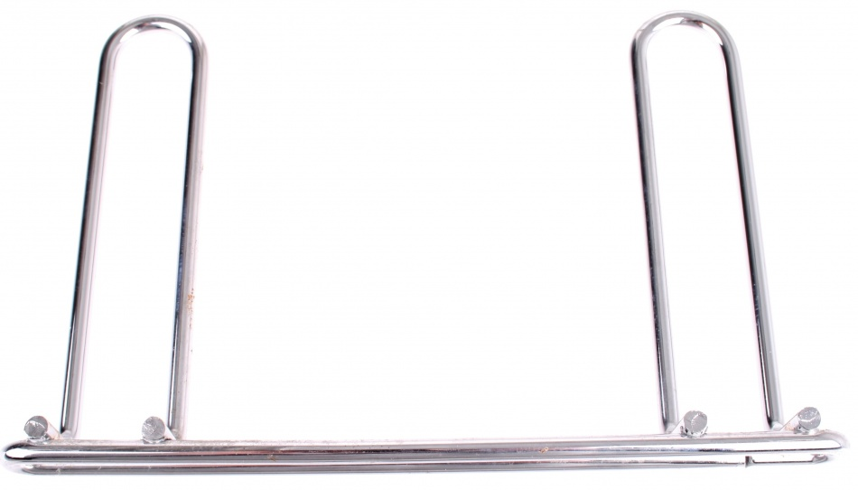 Steco (Bier)Krat bagagedrager 21.5 cm staal zilver