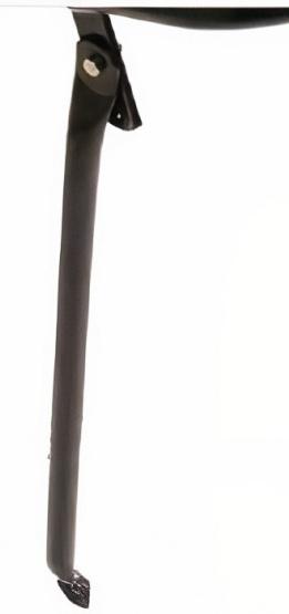Steco staander voordrager zonder lamphaak 28 inch staal zwart