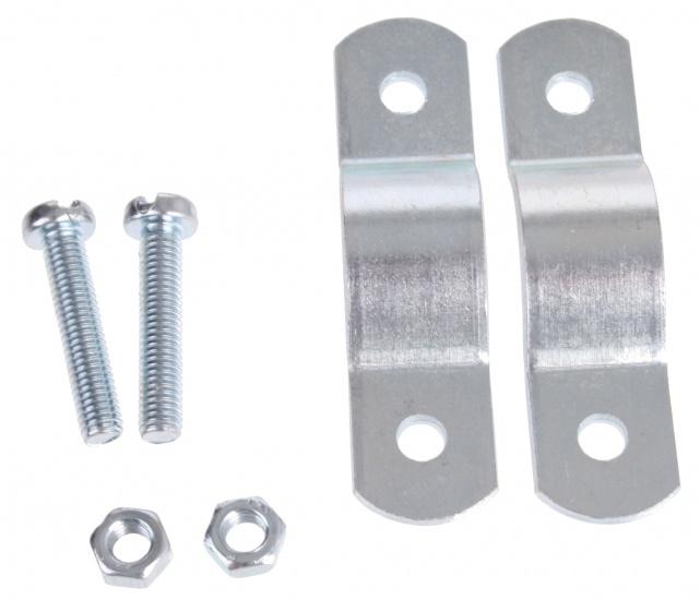 Steco Voordrager montuur 63.5 mm zilver