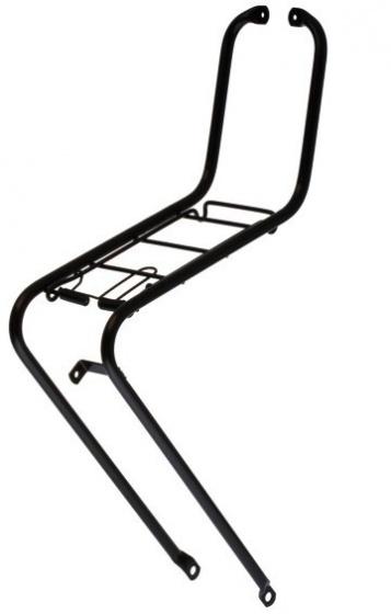 Steco voordrager 26/28 inch staal matzwart